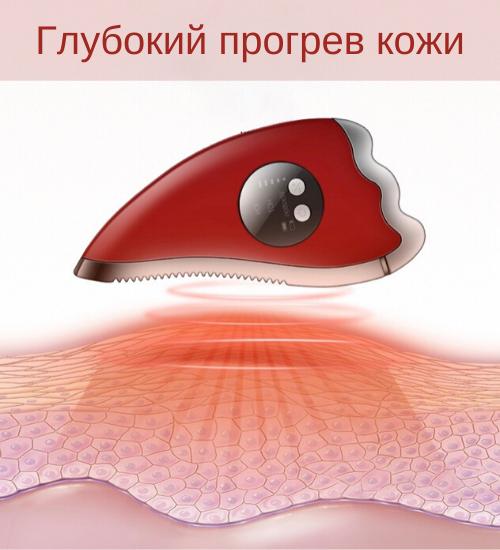 микротоковый аппарат гуаша, Микротоковый аппарат для лица