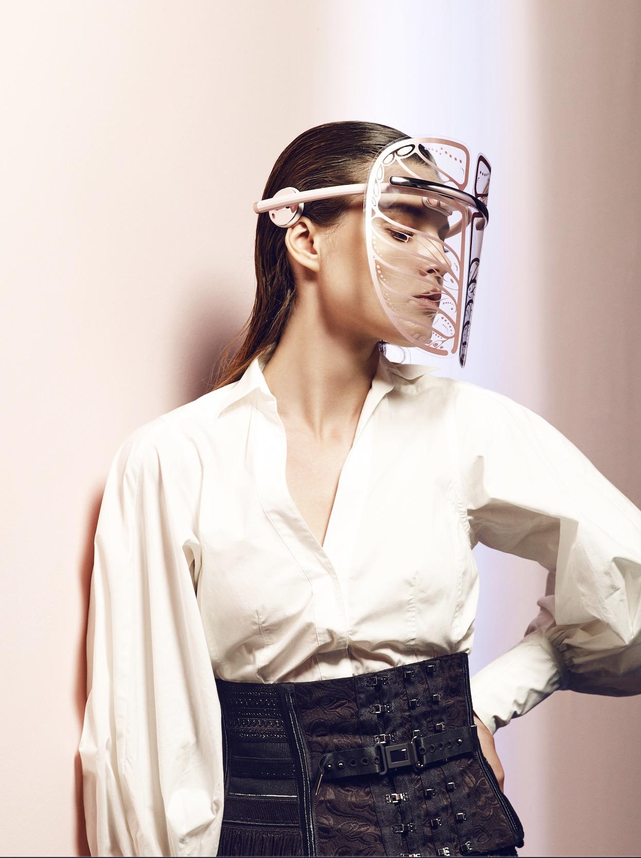 графеновая маска для лица, инфракрасная терапия
