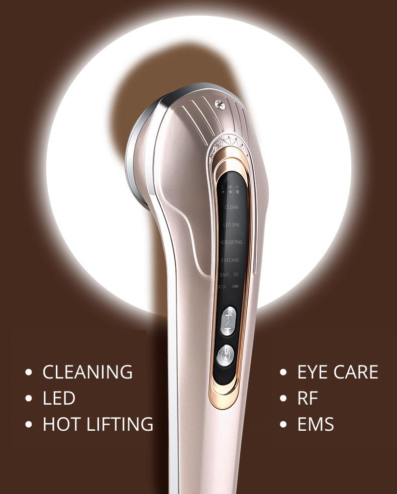 многофункциональный прибор для лифтинга, подтяжка овала лица, лифтинг лица