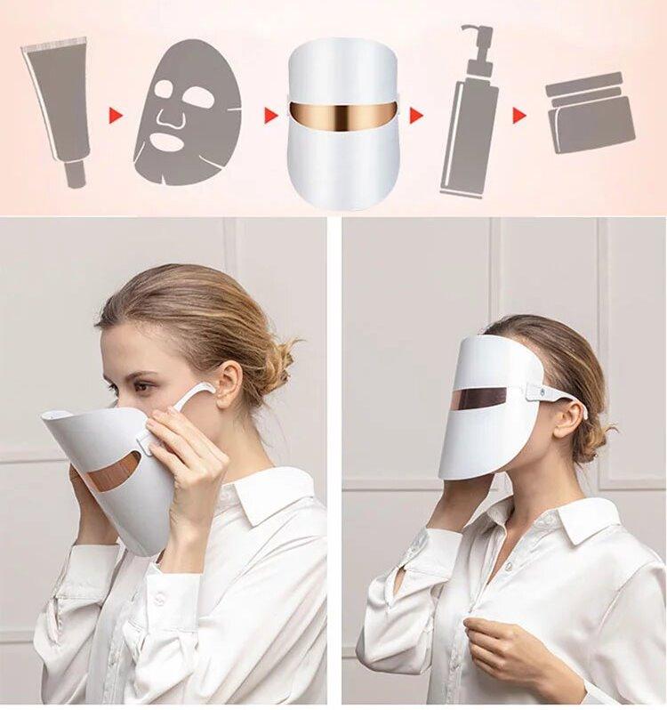 лед маска для фототерапии дома про