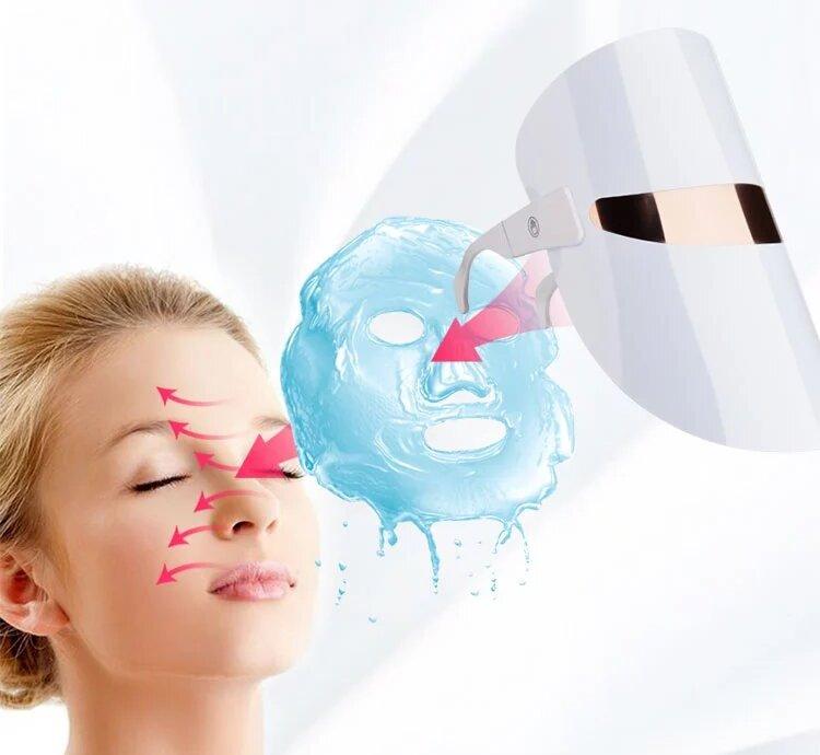 лед маска для фотодинамической терапии про